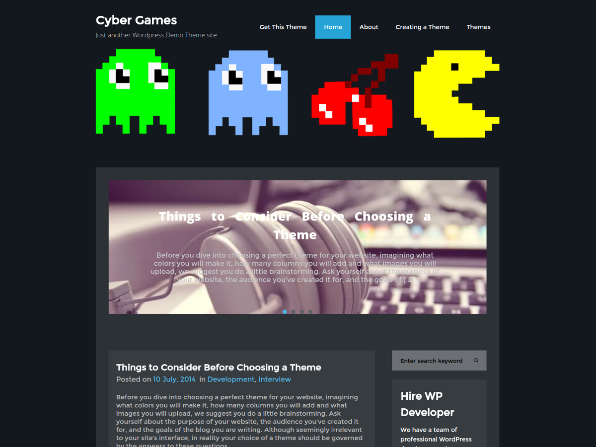 cybergames screenshot 1