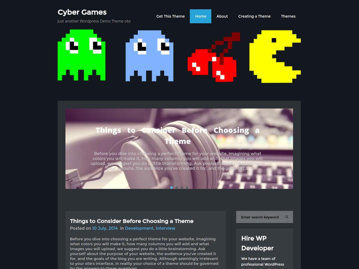 cybergames screenshot 1