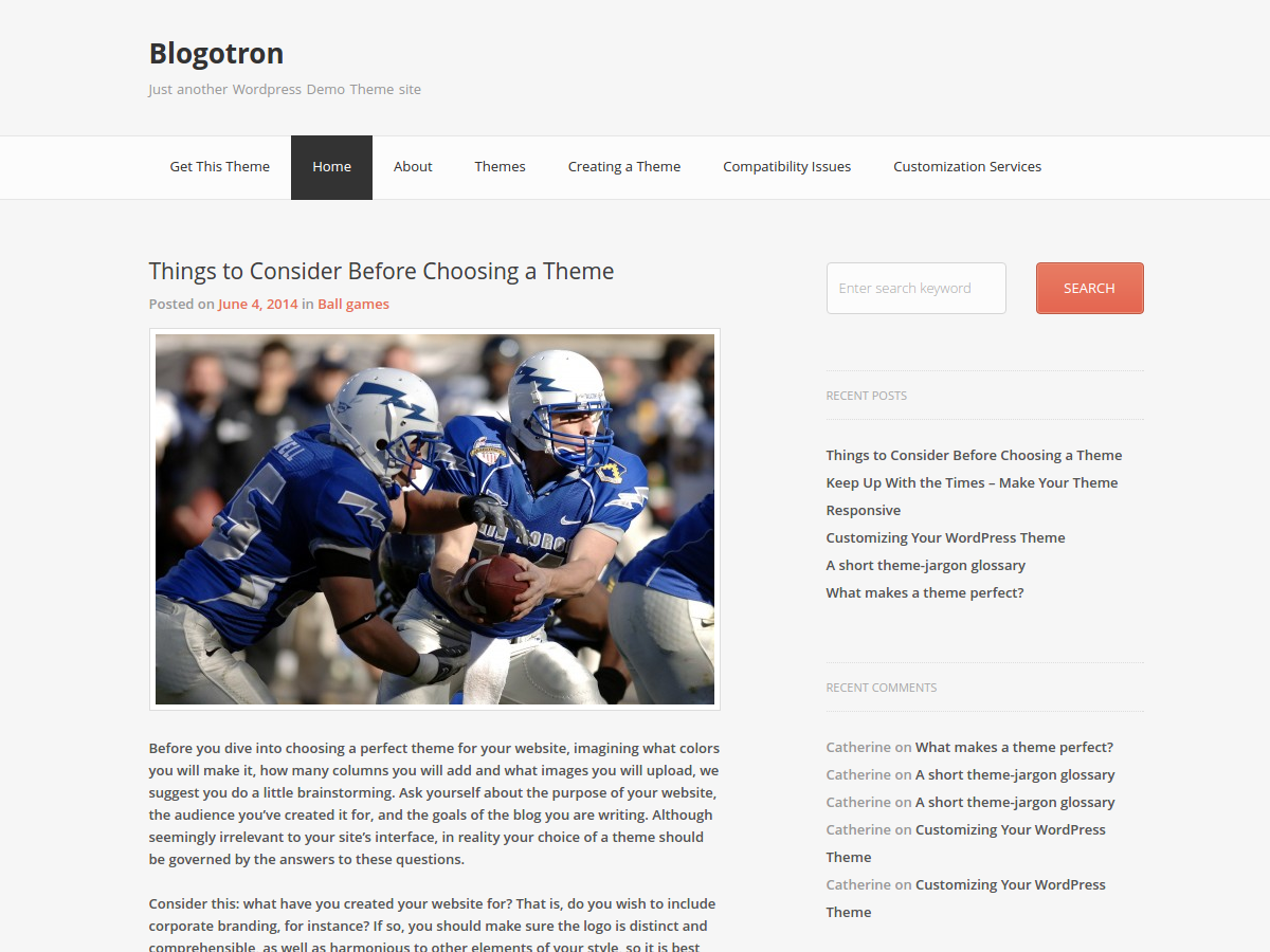 blogotron screenshot 1