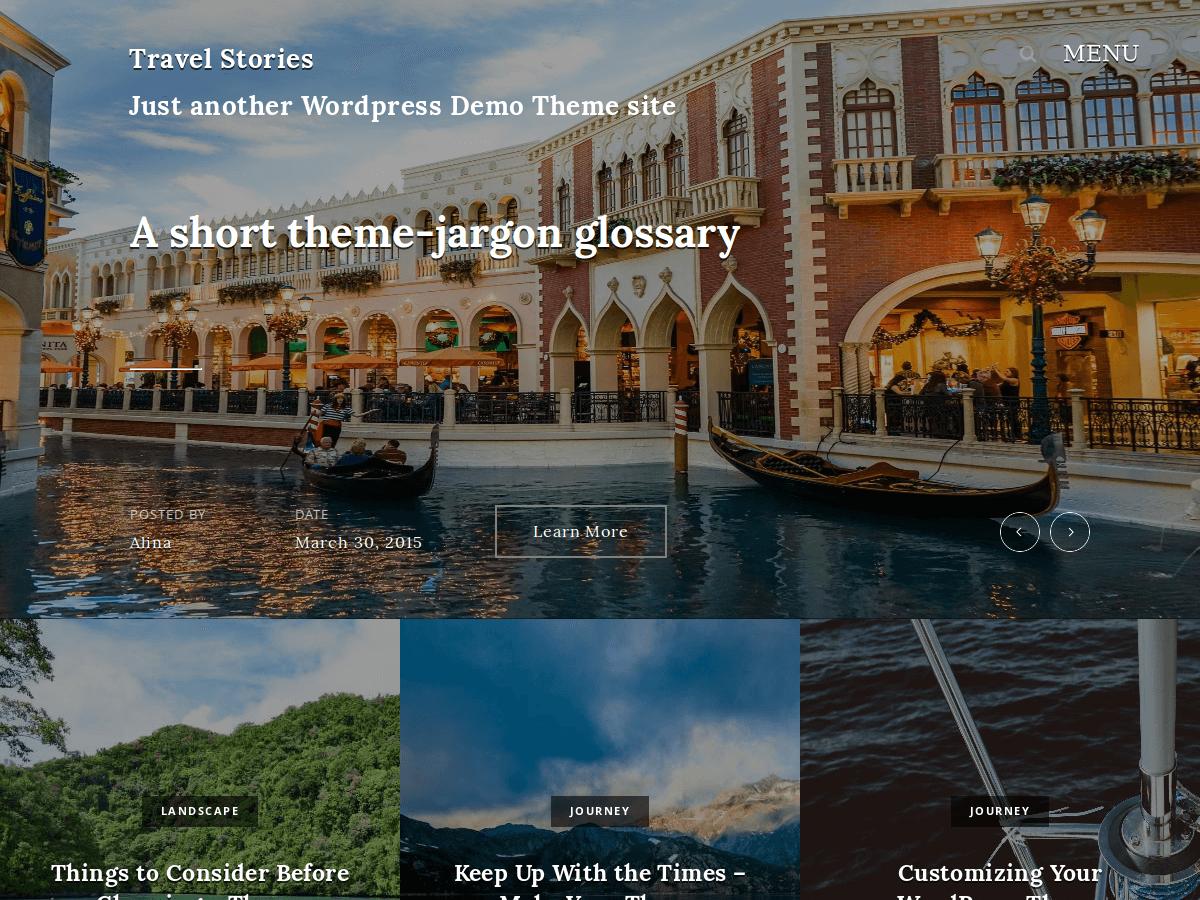 travel stories screenshot 1